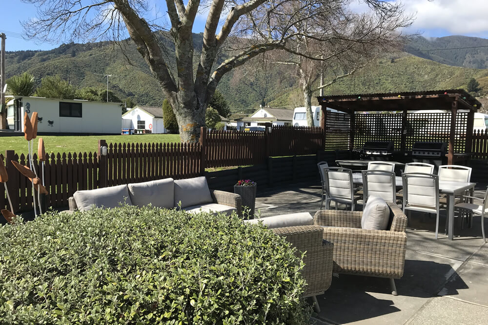 Park Amenities At Parklands Marina Holiday Park In Picton NZ