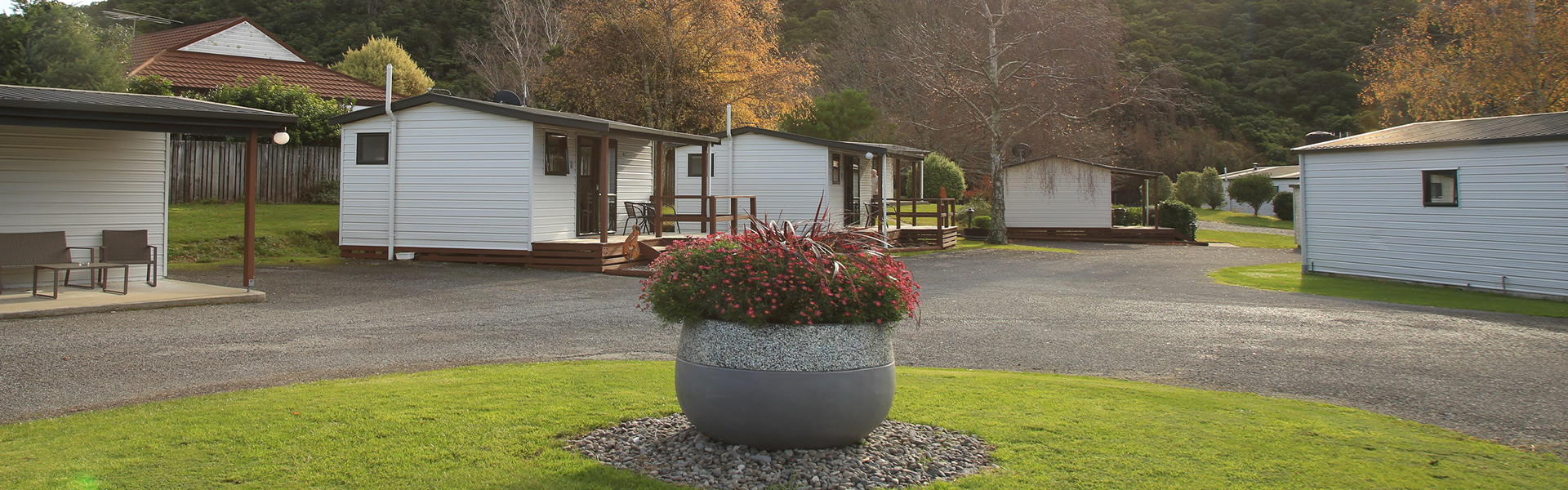 Cabin Accommodation At Parklands Marina Holiday Park In Picton NZ